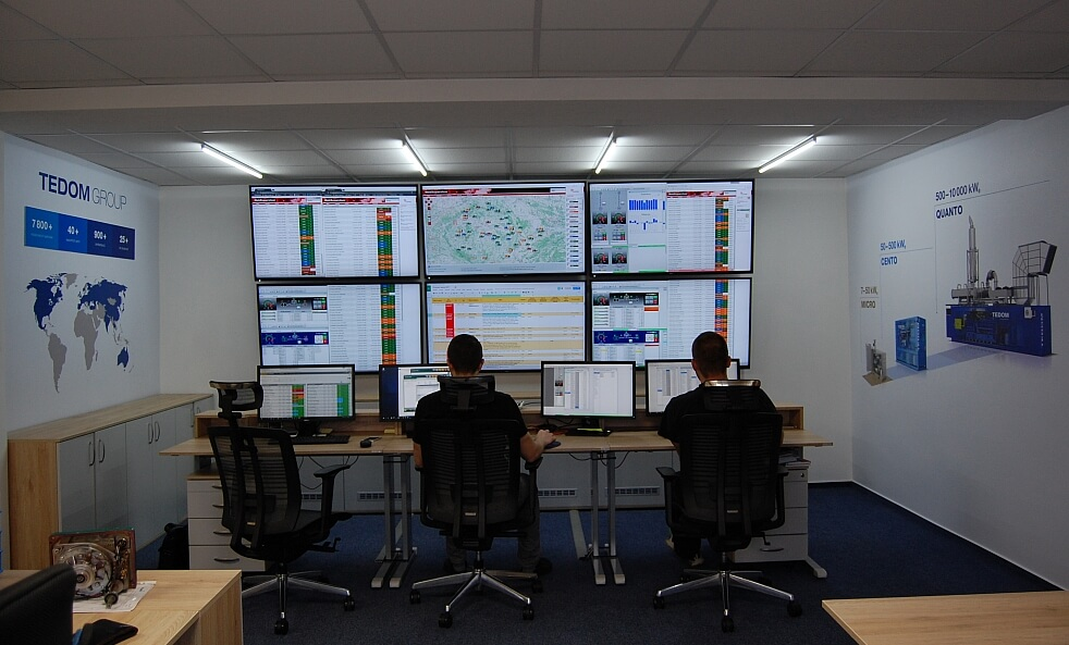 Monitoring of CHP units Operation