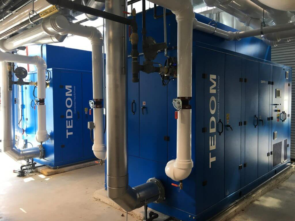 Two CHP units commissioned in Canada