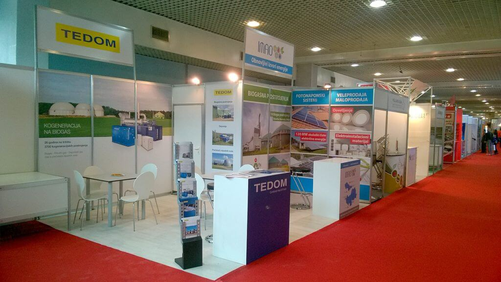 We exhibit in Serbia