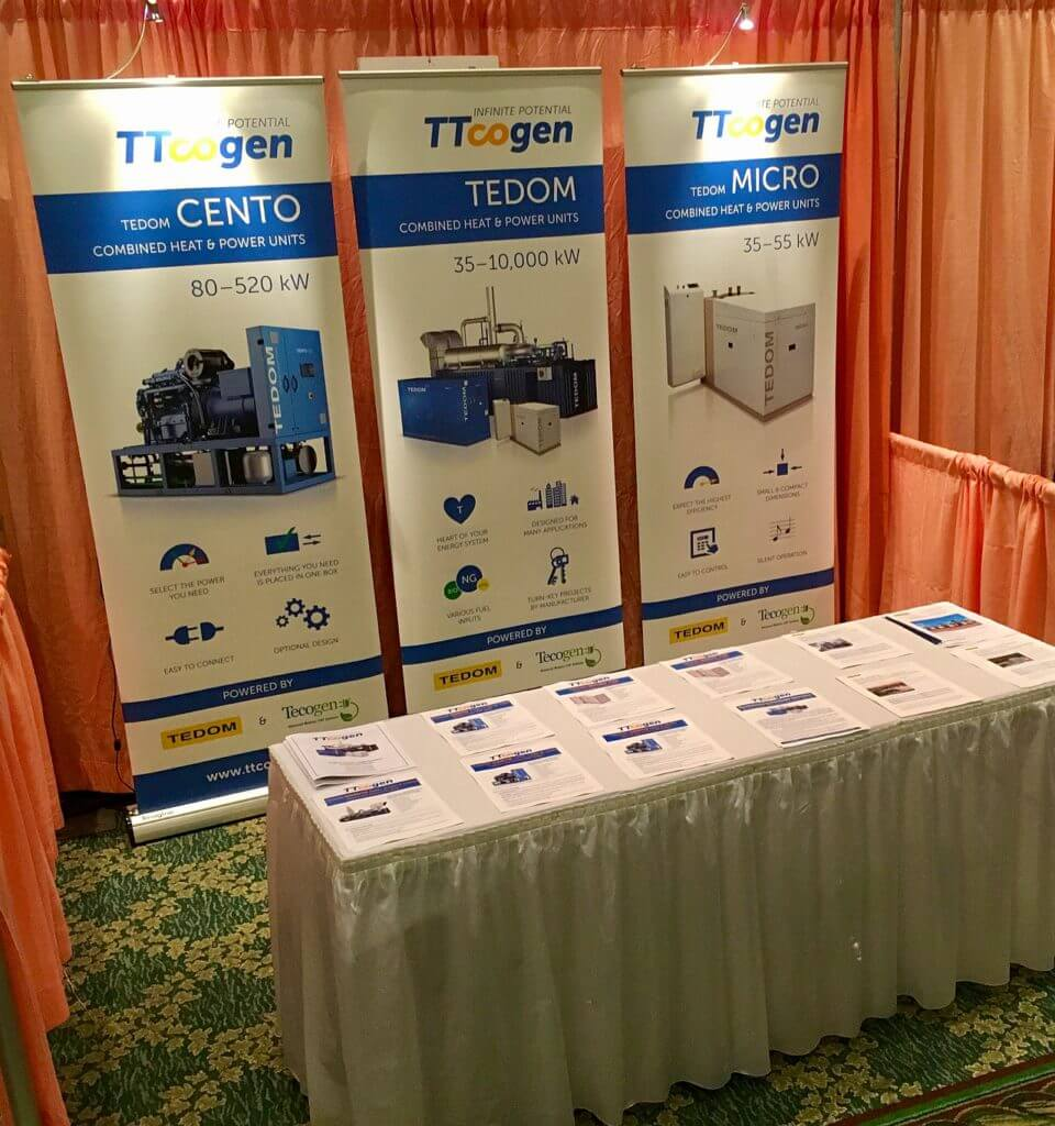 TTcogen at a conference in Orlando
