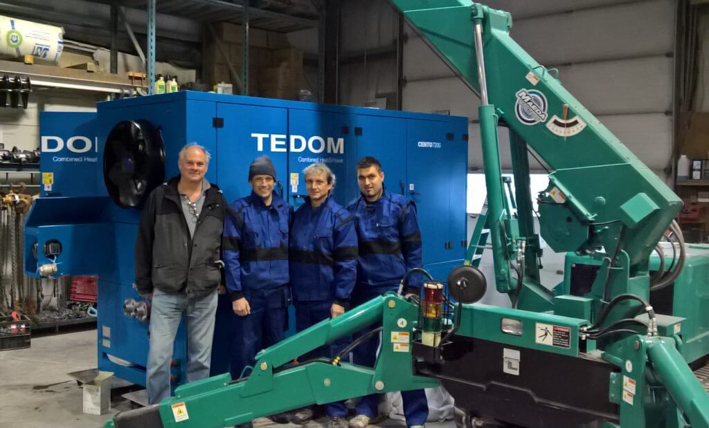 TEDOM strengthens in Canada