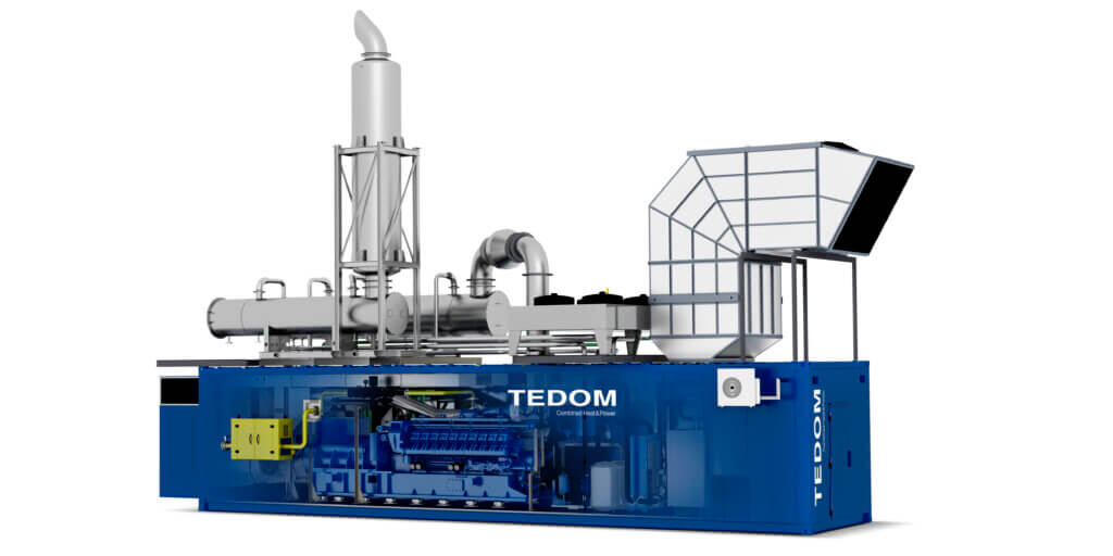 TEDOM CHP units for Halemba