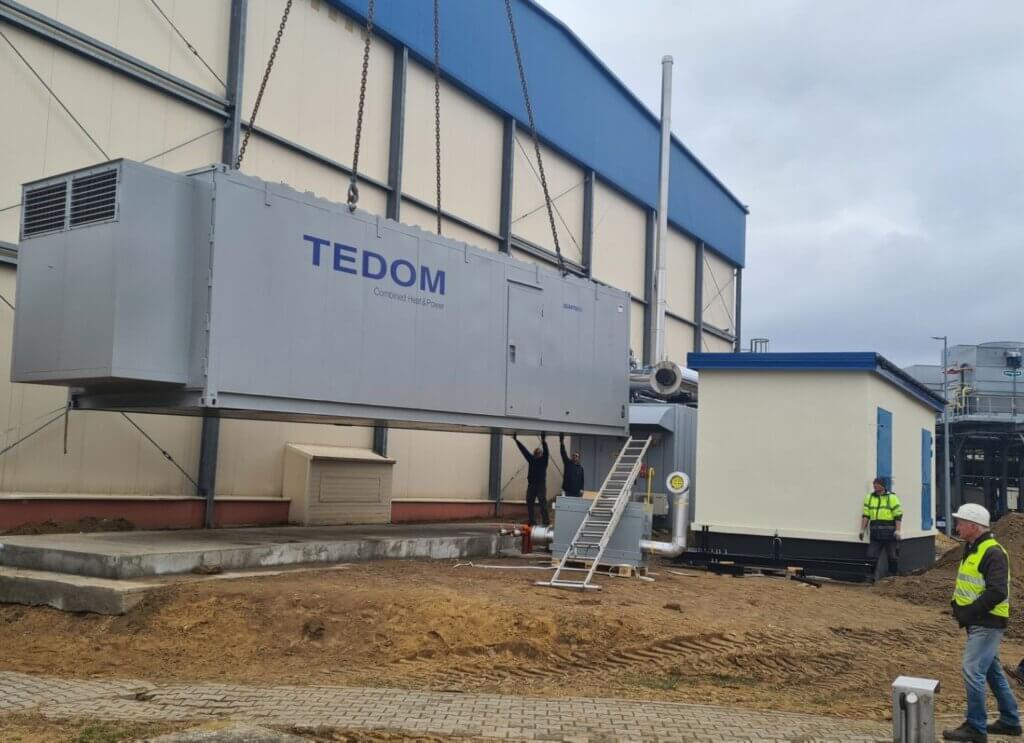 Kogeneracja TEDOM w biogazowni rolniczej