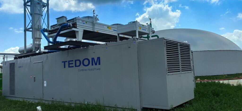 TEDOM in der nächsten Biogasanlage