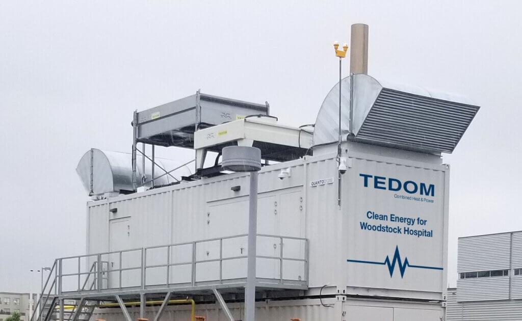 Efektivnější zásobování nemocnice energiemi v kanadském městě Woodstock